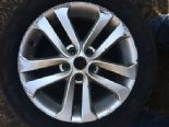 "2012 NISSAN JUKE DCI GENUINE OEM 17"" 5 TWIN SPOKE ALLOY WHEEL N457018"